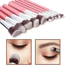 10pcs Kabuki Style Make Up Brush Set Face Powder Foundation Blusher - Style 5