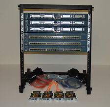 Cisco CCNA Lab Kit 3x 1760 Routers & 3x 2950 Switches, Rack, Cards, Cables and..