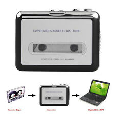 Tape to PC USB Cassette & MP3 CD Converter Capture Digital Audio Music Player