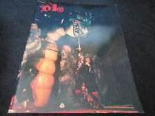 Dio 1986 Japan Tour Book w Ticket Ronnie James Blackmore Rainbow Black Sabbath