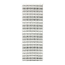 Ikea LAPPLJUNG Panel curtain,White/Black,60x300 cm,Multipurpose use,Free Postage