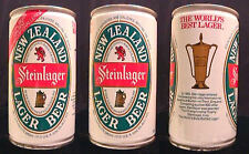 STEINLAGER NEW ZEALAND LAGER BEER 1985 340ML PULL TAB CAN BNZ AMERICAS CUP CHAL