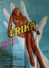 ERIKA THE PERFORMER French Grand movie poster 47x63SEXPLOITATION Patrizia Viotti