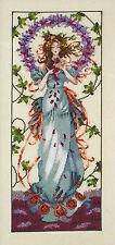 Cross Stitch Chart / Pattern ~ Mirabilia Blossom Goddess #MD146