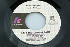 K.C. & Sunshine Band: That's the Way (I Like It) / What Makes You Happy [NEW]