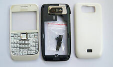 White housing fascia facia cover case faceplate for nokia e63  ---90887