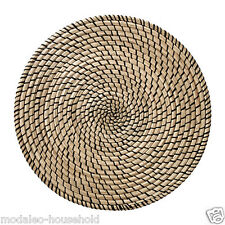 IKEA LATTAD Place Mat Natural Seagras 37cm Table Dining Party Kitchen Round-B787