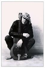 Stevie Ray Vaughan  **LARGE POSTER** Blues Guitar Master MUST SEE DOBRO pic SRV