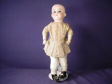 Antique German Bisque Head Composition Body Doll 15""