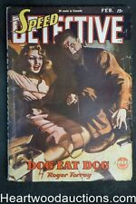 Speed Detective Feb 1946 H.J. Ward Bondage Cvr