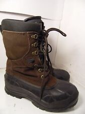 Kamik Nationplus Nation Plus Men's Dark Brown Winter Boot Boots Waterproof Sz 8