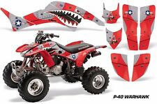 Honda TRX 400 EX AMR Racing Graphic Kit Wrap Quad Decal ATV 1999-2007 WARHAWK R