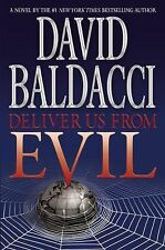 DELIVER US FROM EVIL by David Baldacci (2010, Hardcover) Brand New 1st Ed,1st
