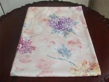 "Chrysanthemum Floral Table Cloth Yellow Peach Mauve Purple Colors 52"" x 70"" New"
