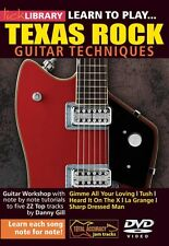 Learn to Play Texas Rock Lick Library DVD NEW 000393026