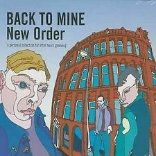 BACK TO MINE - NEW ORDER - BRAND NEW CD - VARIOUS ARTISTS