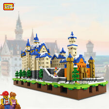 New SWAN STONE CASTLE 9.5'' Nano Block LOZ micro mini building toy & model