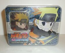 NARUTO CCG ULTIMATE BATTLES CHIBI TIN HOKAGE'S LEGACY BLUE #3 OF 3 Card Game