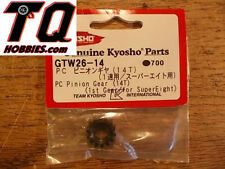 GTW26-14 PC Pinion Gear 14 Tooth / 1st Gear - Kyosho Landmax Fast ship+tracking#