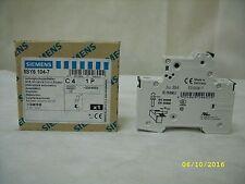 NEW SIEMENS 5SY6-104-7 5SY6104-7 5SY61047 MCB MINIATURE CIRCUIT BREAKER