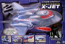 """Marvel X-Men United Electronic X-JET includes Exclusive 6"""" WOLVERINE Logan New"""