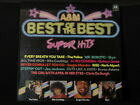 A&M. Best Of The Best. Super Hits. 33 lp Record Album. Police Styx Joe Jackson