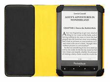 Schutzhülle Cover Dots Yellow - alle 6 Zoll PocketBook e-Reader - Blitzversand