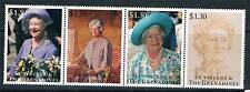 St Vincent 1995 Queen Mother 95th B/day 4v Strip SG 2927/30 MNH
