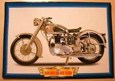 BSA GOLDEN FLASH A10 650 TWIN CLASSIC VINTAGE MOTORBIKE 1951 PICTURE 50'S PRINT
