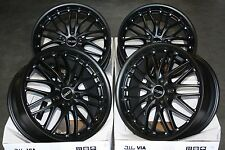 "18"" STEALTH ALLOY WHEELS FITS RENAULT VOLVO PEUGEOT MERCEDES BENZ 5X108 ONLY"