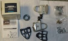 New-Old-Stock Shimano 105 (PD-1056) LOOK Compatible Clipless Pedals COMPLETE