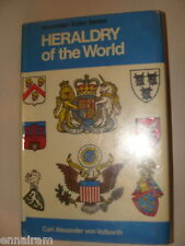 Heraldry of the World 1st Amer. Ed 1974 Carl Von Volborth Coats of Arms