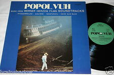 POPOL VUH music from werner herzog films soundtracks LP Zyx Rec GER 1982 AMBIENT