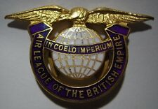 Vintage *Air League of the British Empire* Enameled Badge