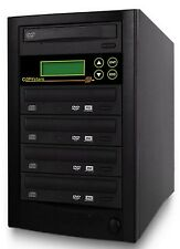 Copystars CD DVD Duplicator 1- 4 Copy Asus/LG DL DVD burners SATA copier tower