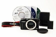 *Exc+++!!* Canon EOS M2 18.0MP Mirrorless DSLR Camera Body Black from Japan #562