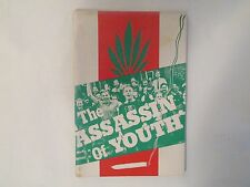 Marihuana: Assassin of Youth, Signed, 1937, Marijuana, Cannabis, Drugs, Pot