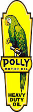 "(POLLY-LUB-1) 24"" x 7"" FRONT POLLY LUBSTER DECAL GAS OIL GAS PUMP SIGN STICKER"