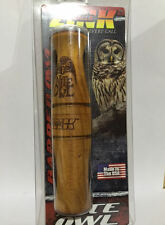 ZINK CALLS NITE OWL TURKEY LOCATING HUNTING SPRING JAKE ZINK NITE OWL NEW!!