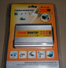Car Power Inverter 200W AC 220V + USB Port 5V