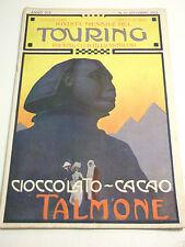 TOURING CLUB ITALIANO OTT.1913 LANZO SIGHIGNOLA CIOCCOLATO TALMONE L5-269