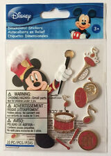 ~MICKEY PARADE~ Dimensional Stickers EK Success; DISNEY Disneyland World, Mouse