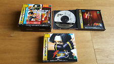 The King of Fighters Best Collection SC 95 96 97-Sega Saturn NTSC cib