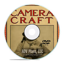 Camera Craft Magazine, 490 issues, 1900-1942, Camera History Mags, PDF DVD E66