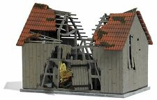 BUSCH 1405 Destroyed Barn H0 #new original packaging#