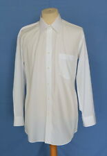 Vintage Issey Miyake im Product Old White Cotton/ Poly Button Front Men Shirt L
