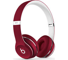 Beats Solo 2 On-Ear Headphones Luxe Edition - Red 100% Genuine-New