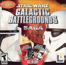 Star Wars Galactic Battlegrounds Saga - PC by LucasArts Entertainment