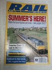 Rail Magazine no 202, June 9th-22nd, 1993.