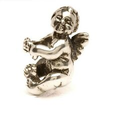 AUTHENTIC TROLLBEAD SILVER CHERUB 11322 PUTTINO